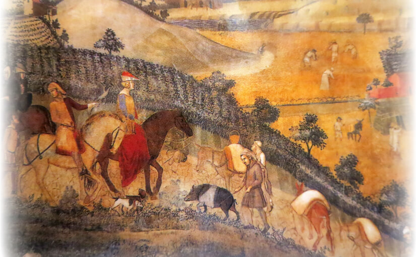 Tuscan Tales Chapter 15 – Sausage Thief